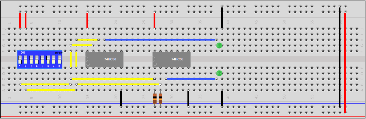 Half Adder Circuit Using 7408 and 7486 | Sully Station Technologies
