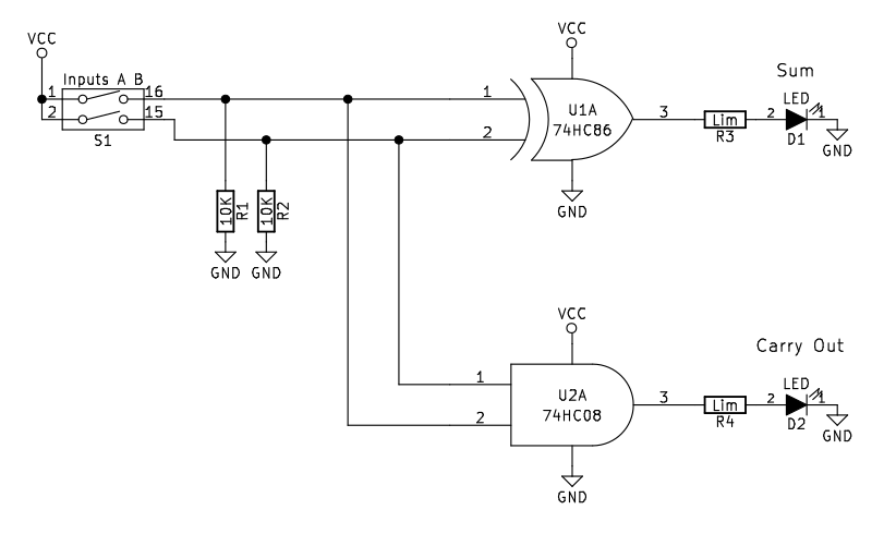 Ic 7486 Circuit Diagram Block And Schematic Diagrams