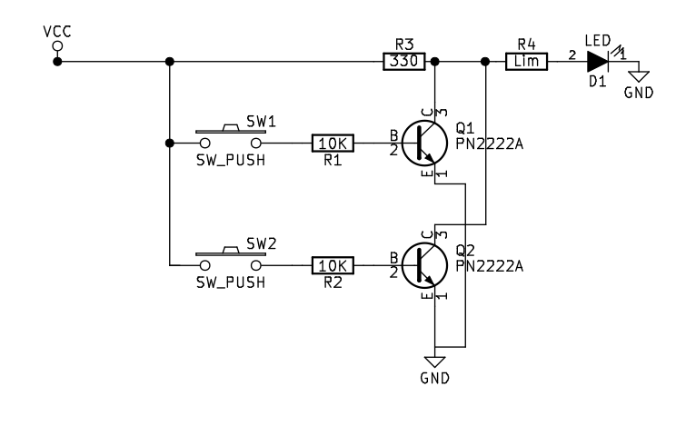 NPN Transistor NOR Gate Circuit | Sully Station Technologies on and gate schematic, molecular logic gate, differential amplifier schematic, nand logic, and gate, counter schematic, bandpass filter schematic, xor cmos schematic, xnor gate, full adder schematic, shift register schematic, op-amp schematic, standard cell, or gate schematic, toffoli gate, logic gate schematic, nor logic, series circuit schematic, xnor gate schematic, xor gate, logic gate, xor gate schematic, or gate, nand gate, inverter schematic, sheffer stroke, gate equivalent, not gate schematic,