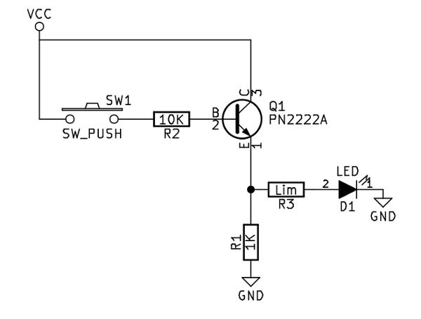 npn transistor switch circuit
